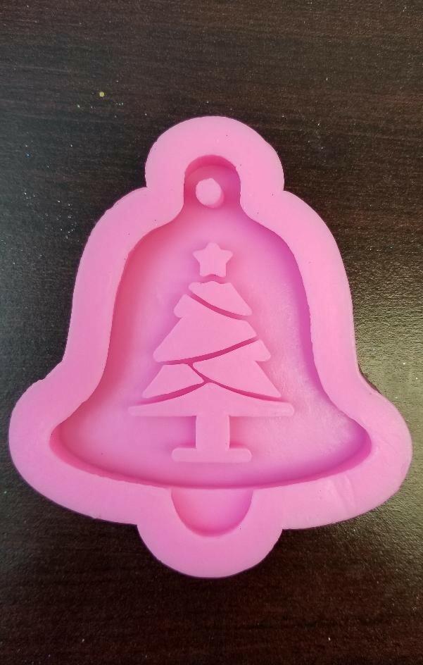 Christmas Bell Christmas Tree silicone mold