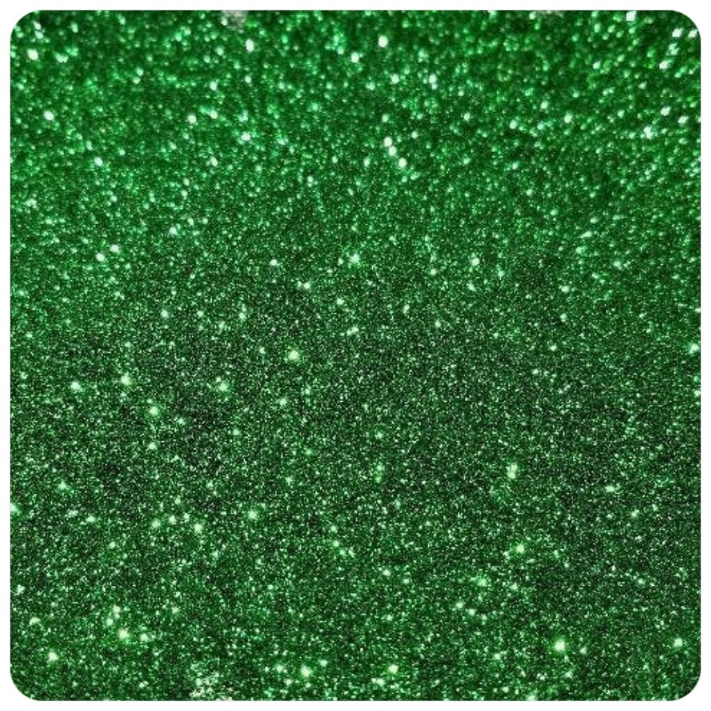 CHRISTMAS GREEN Extra Fine Polyester Glitter