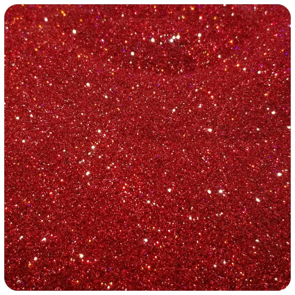 CHRISTMAS RED Extra Fine Polyester Glitter