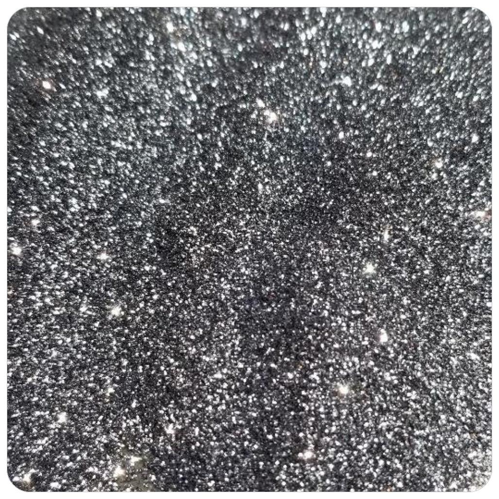 GUN METAL Extra Fine Polyester Glitter
