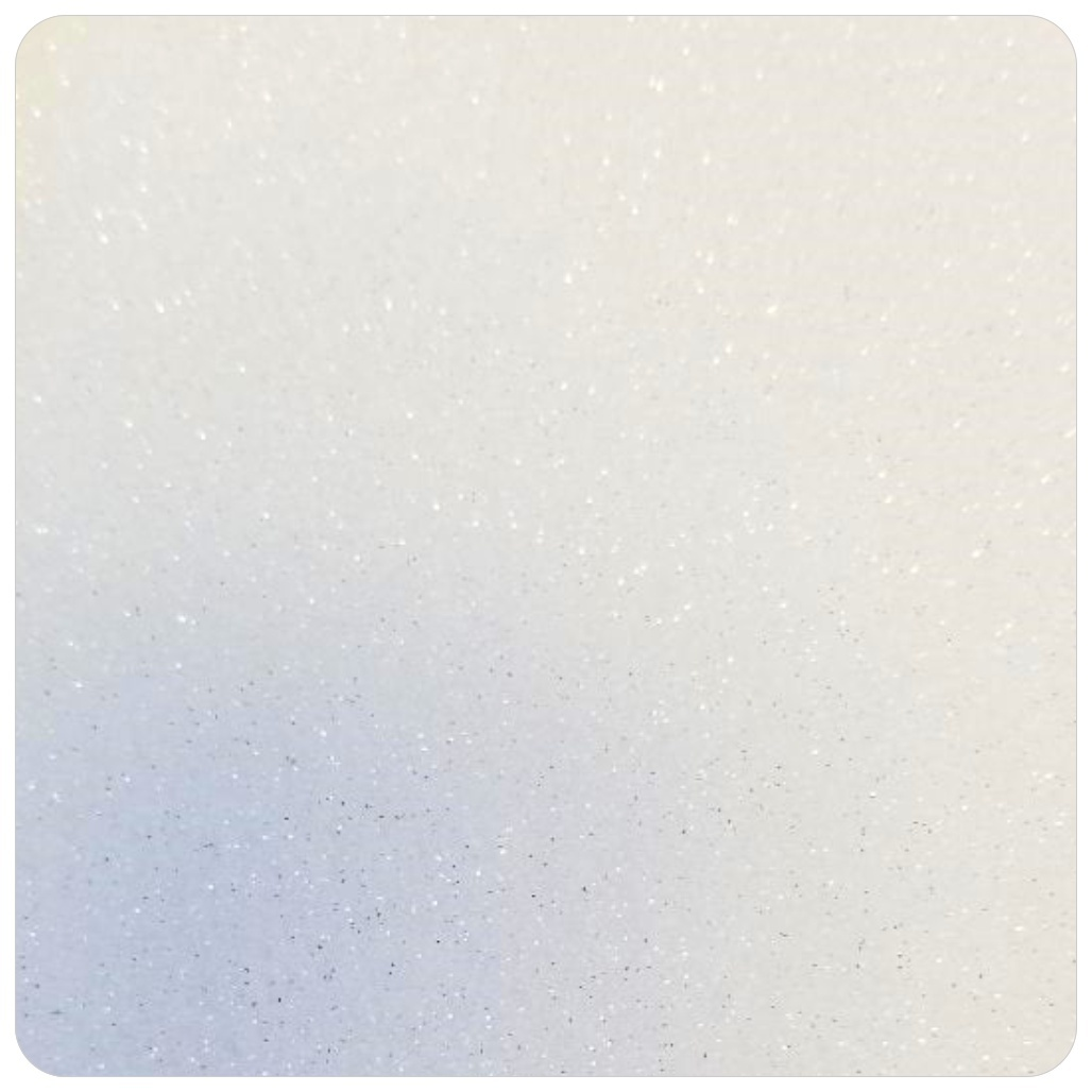 HIGH FLASH SILVER Extra Fine Polyester Glitter