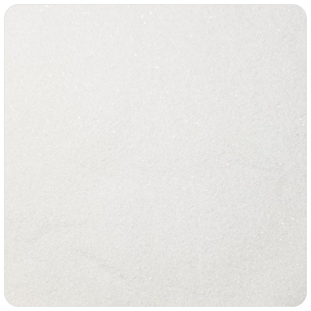 PURE WHITE Extra Fine Polyester Glitter