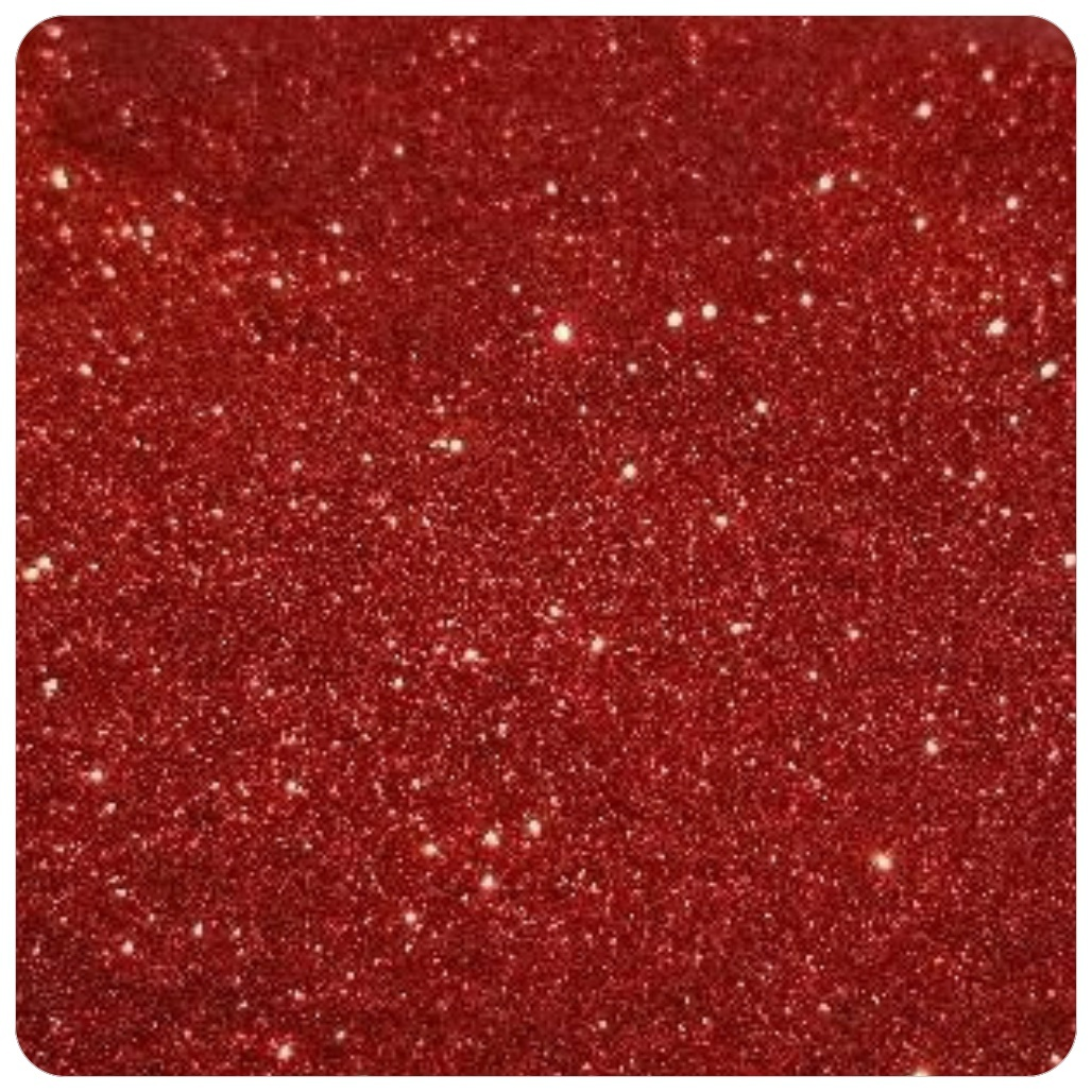 RADIANT RED  Extra Fine Polyester Glitter