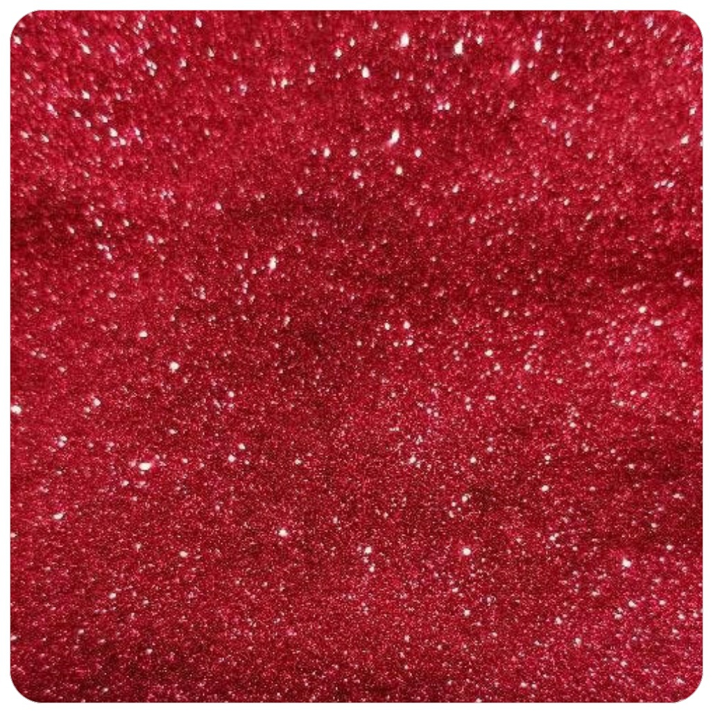 WINE RED Extra Fine Polyester Glitter