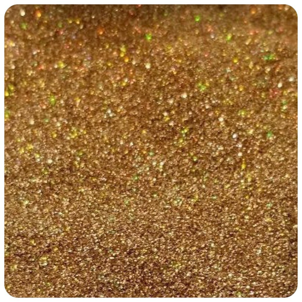 GOLD Holographic Extra Fine Polyester Glitter