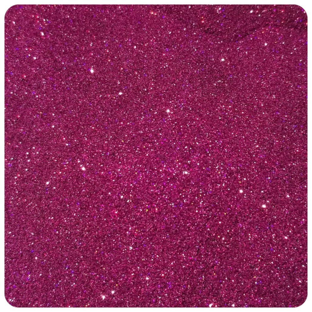 MAGENTA Holographic Extra Fine Polyester Glitter