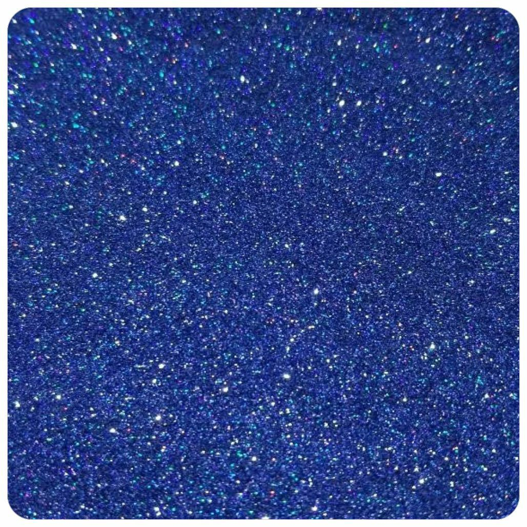 ROYAL BLUE Holographic Extra Fine Polyester Glitter