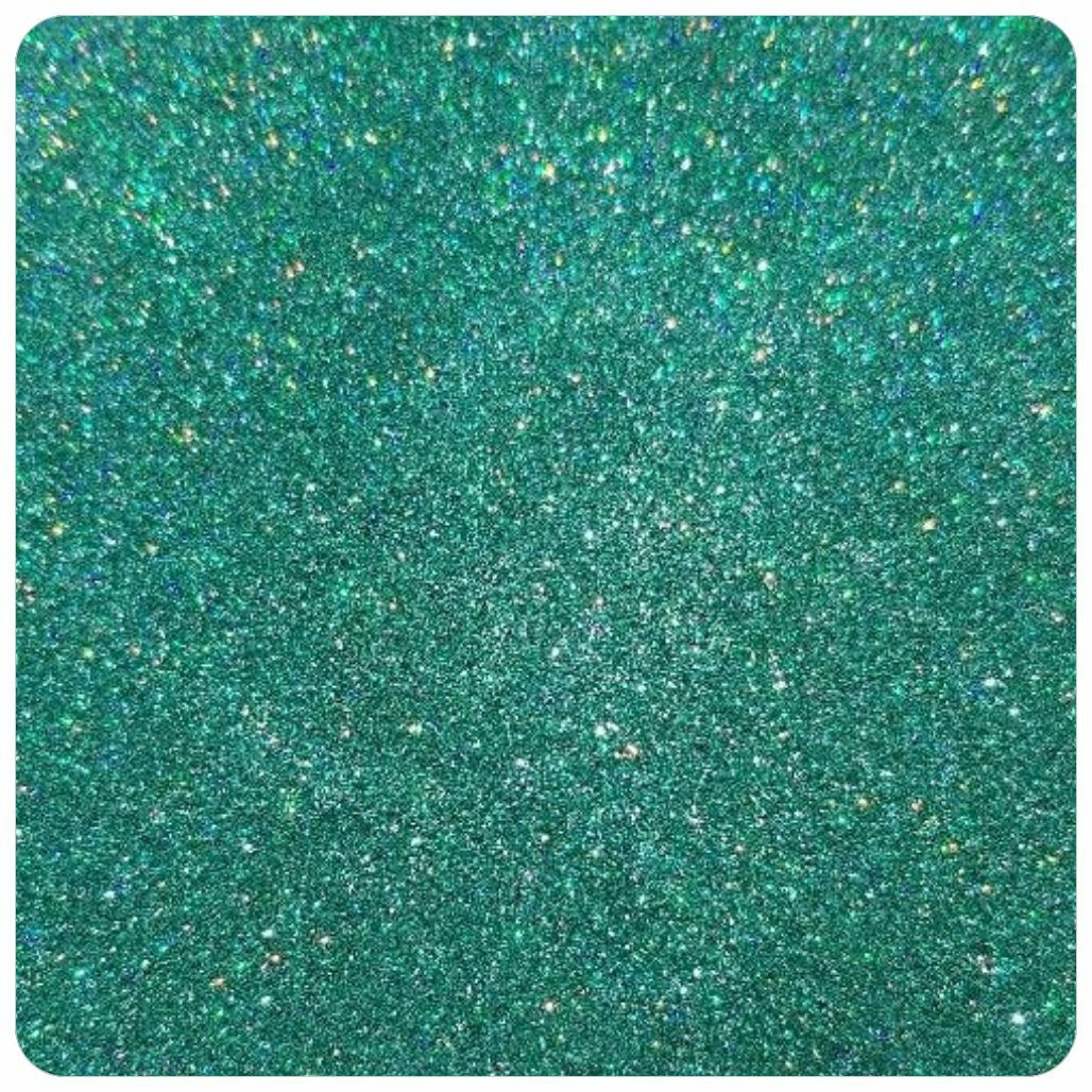 TURTLE SHELL TEAL Holographic Extra Fine Polyester Glitter