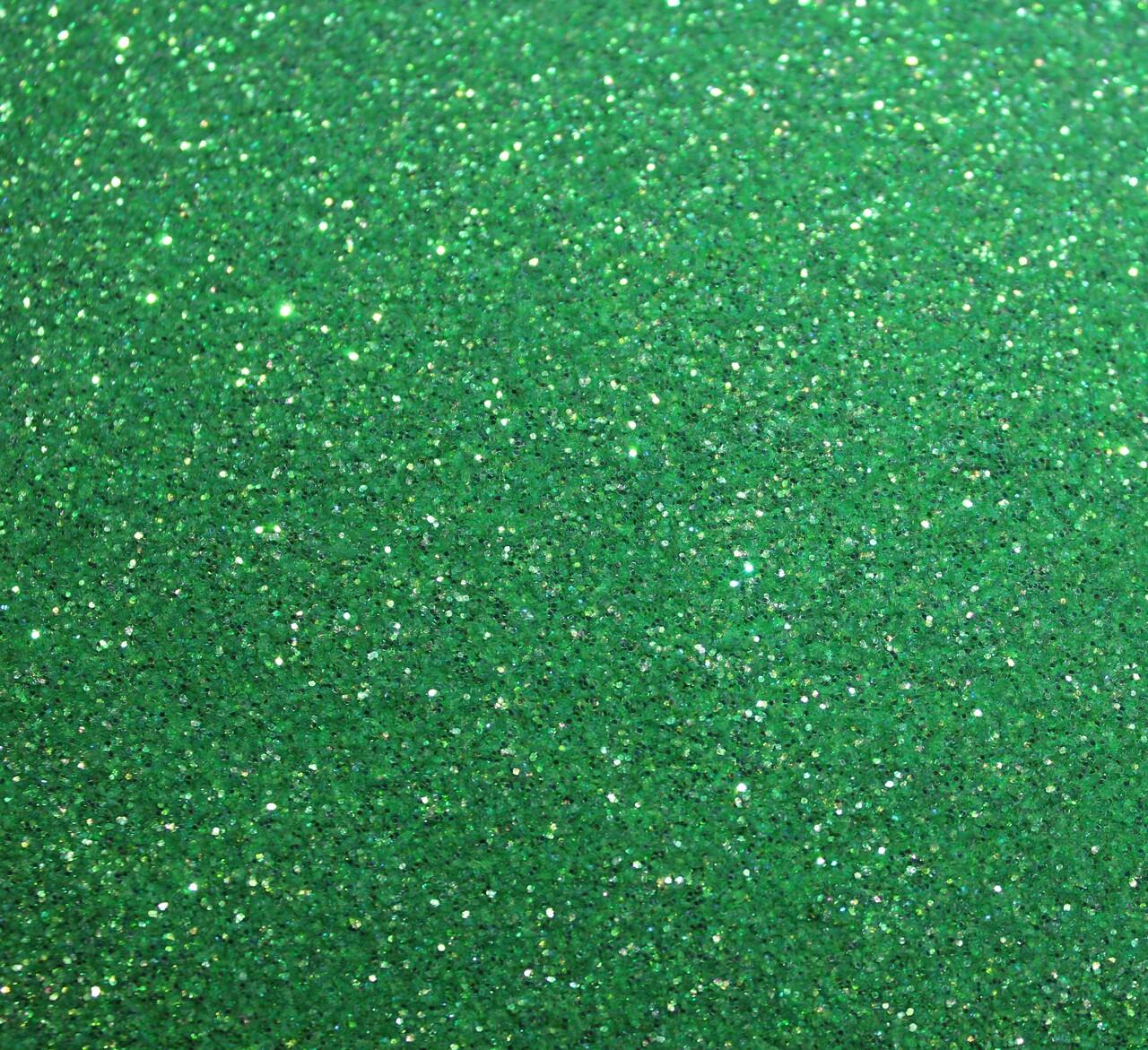 Light Green Fine Glitter (Rainbow)