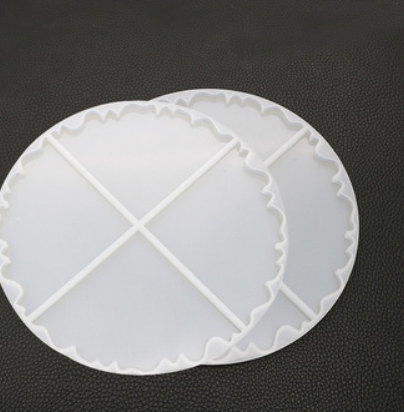 silicone Geode Coaster Mold