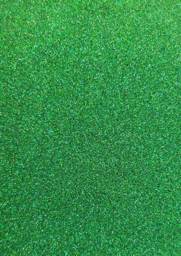 PUTTER'S DELIGHT Green Holographic Extra Fine Glitter