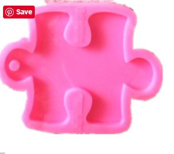 Puzzle Piece silicone mold