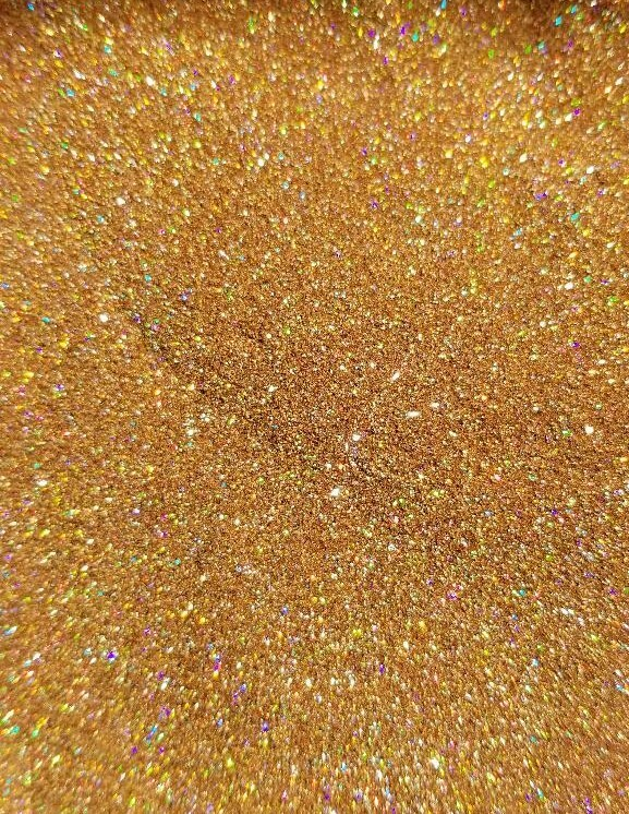 Red Gold Holographic Extra Fine Glitter